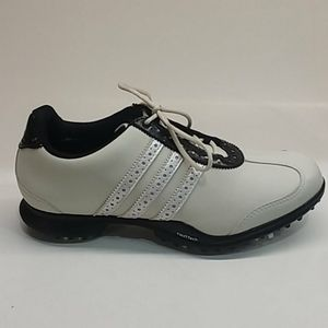 Adidas golf shoes fitfoam thintech black traxion
